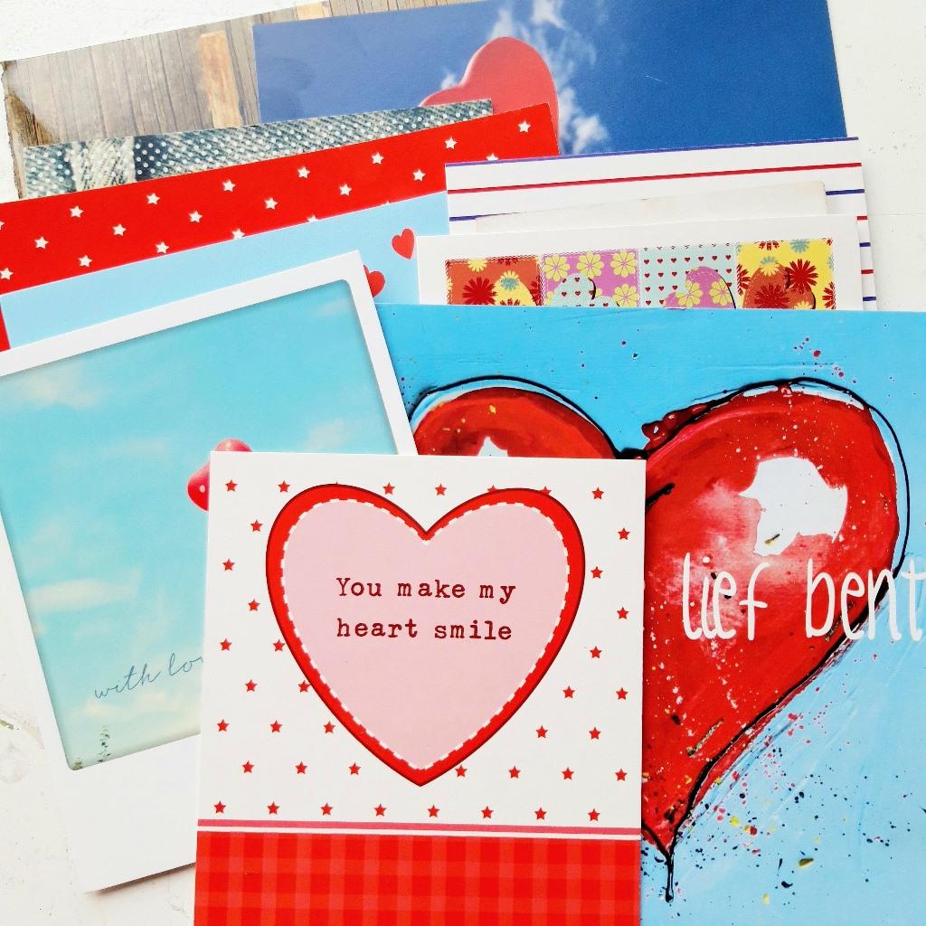 Wat doe je met rouwkaarten? Tip: maak een collage!