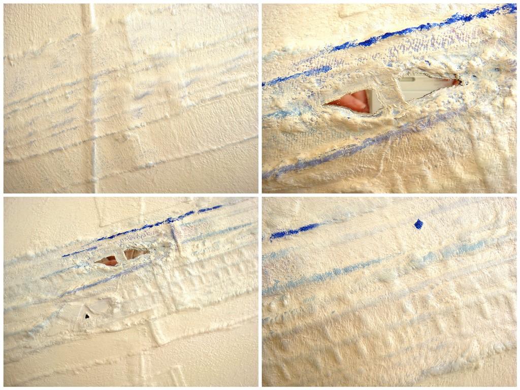 Schilderij in opdracht 'Rafelig Licht' van Marloes van Zoelen - Details