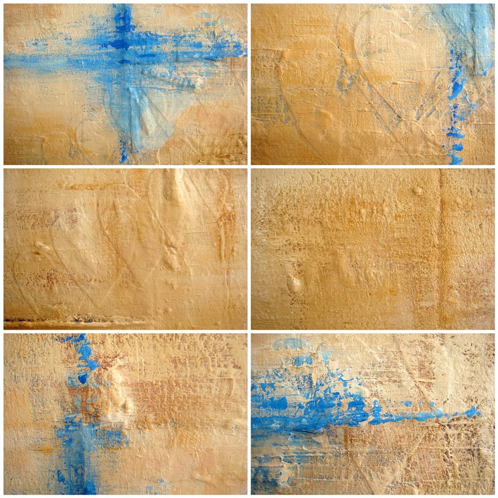 Schilderij met verhaal - Spoor van liefde II details
