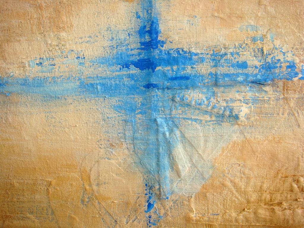 Een detail uit schilderij De kracht van keuzes van Marloes van Zoelen