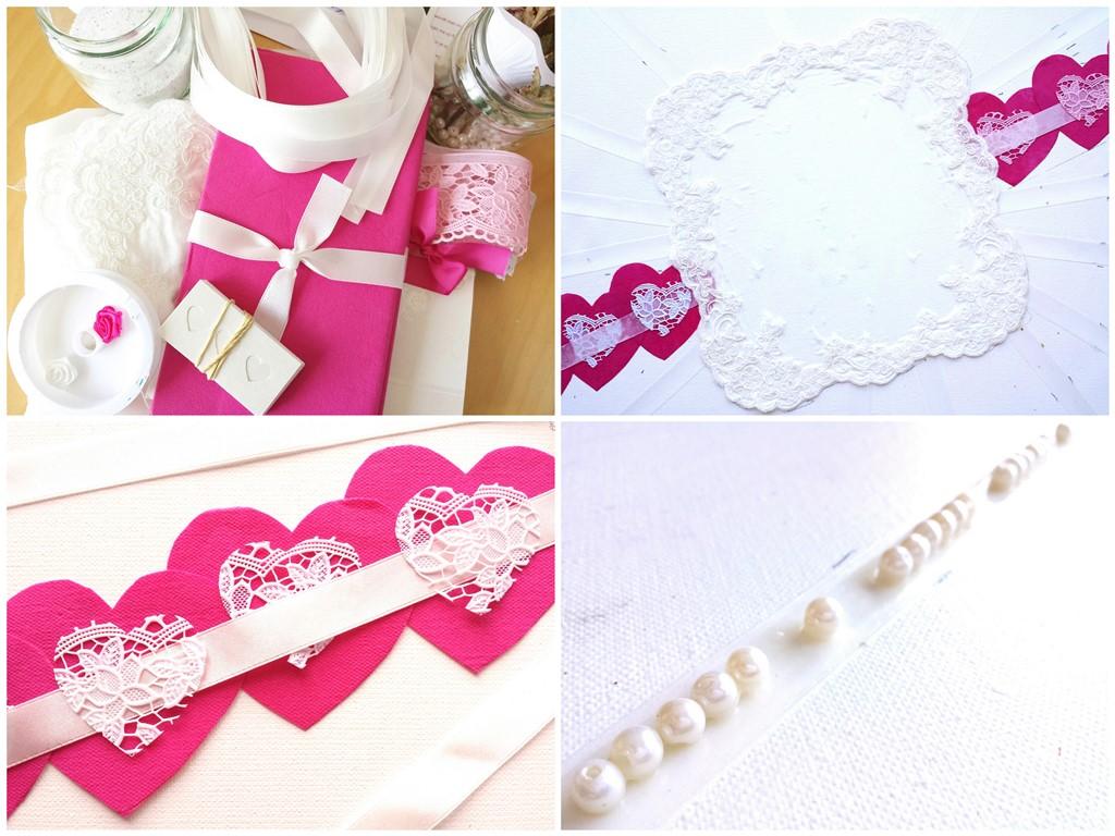 Schilderij op maat laten maken - Huwelijksdag - Voorbeeld materialen