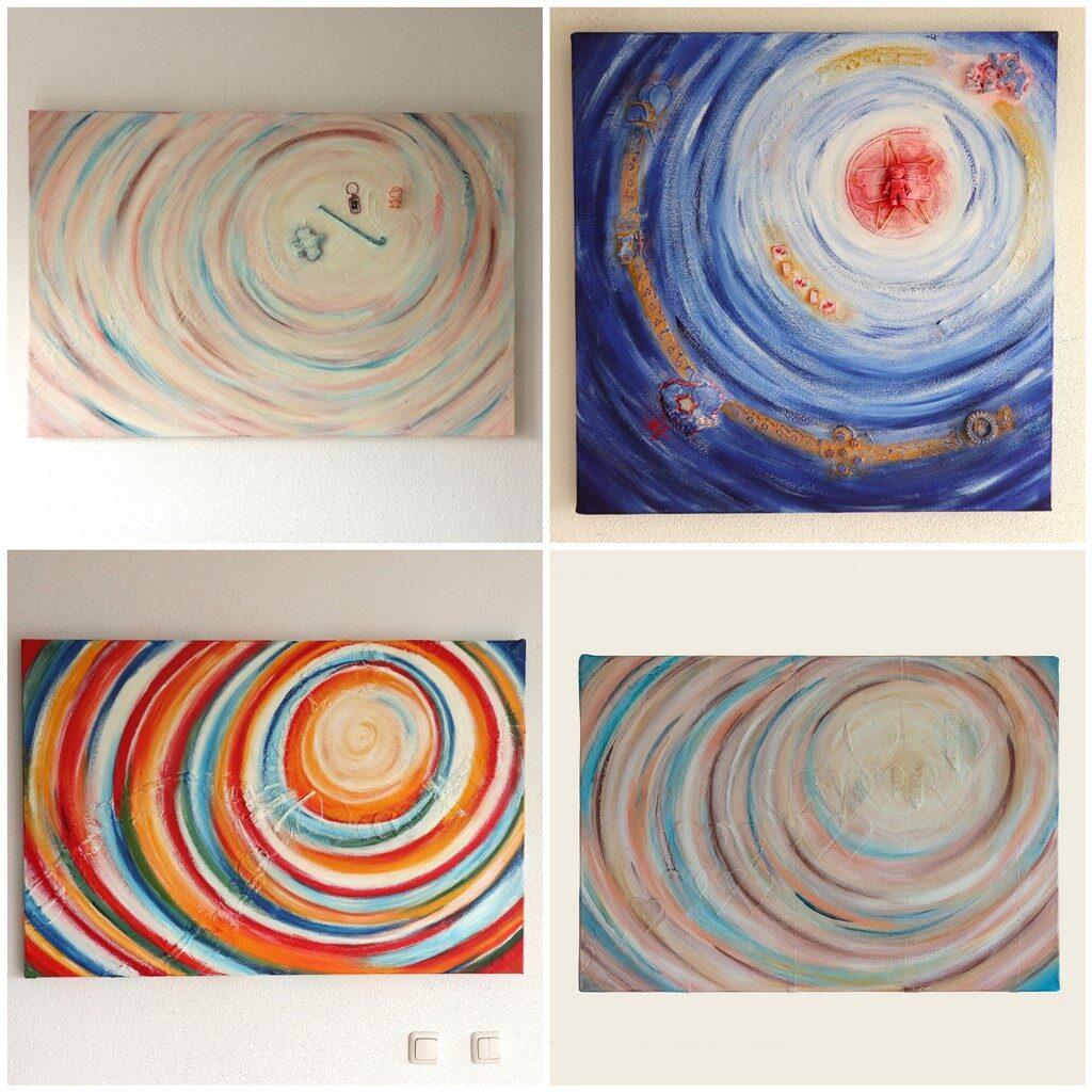 Schilderij op maat laten maken - voorbeelden - Marloes van Zoelen