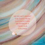 Quote bij blog over duurzaam kunstwerk