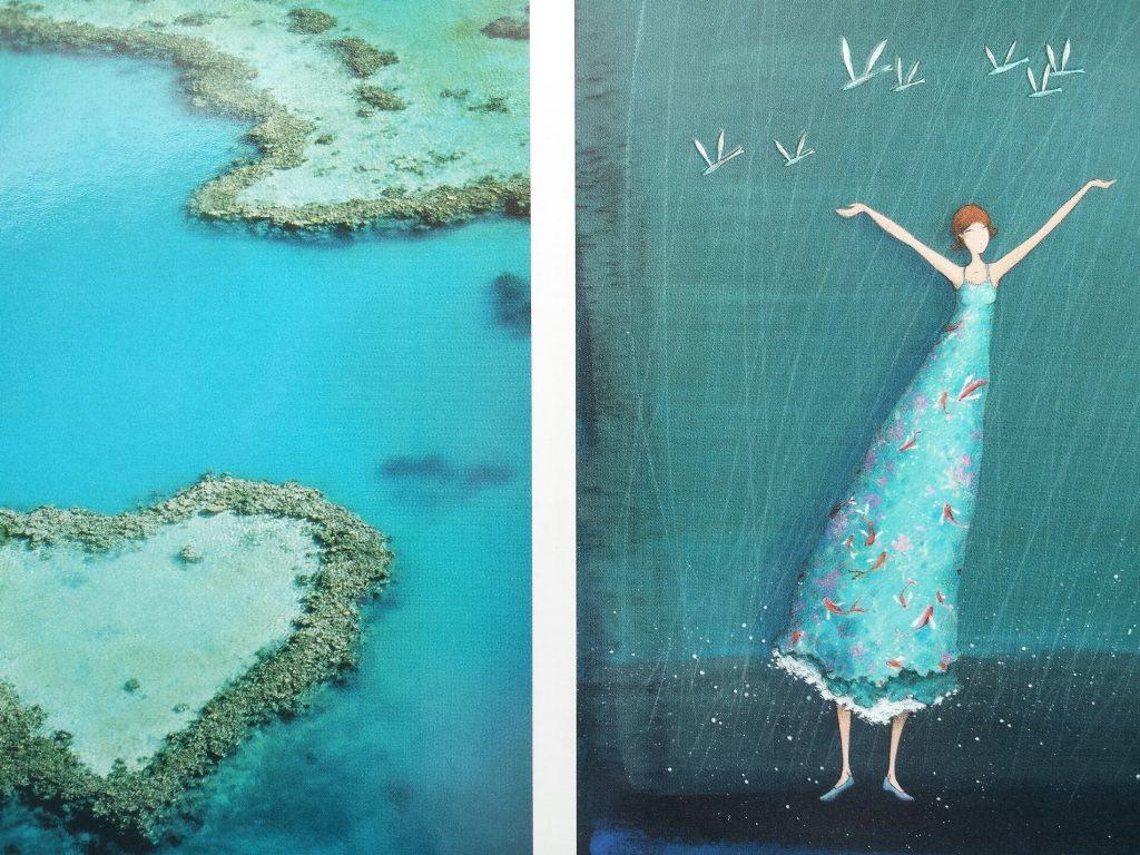 Schilderij van de zee - Zee van vrijheid - Inspiratie kleuren