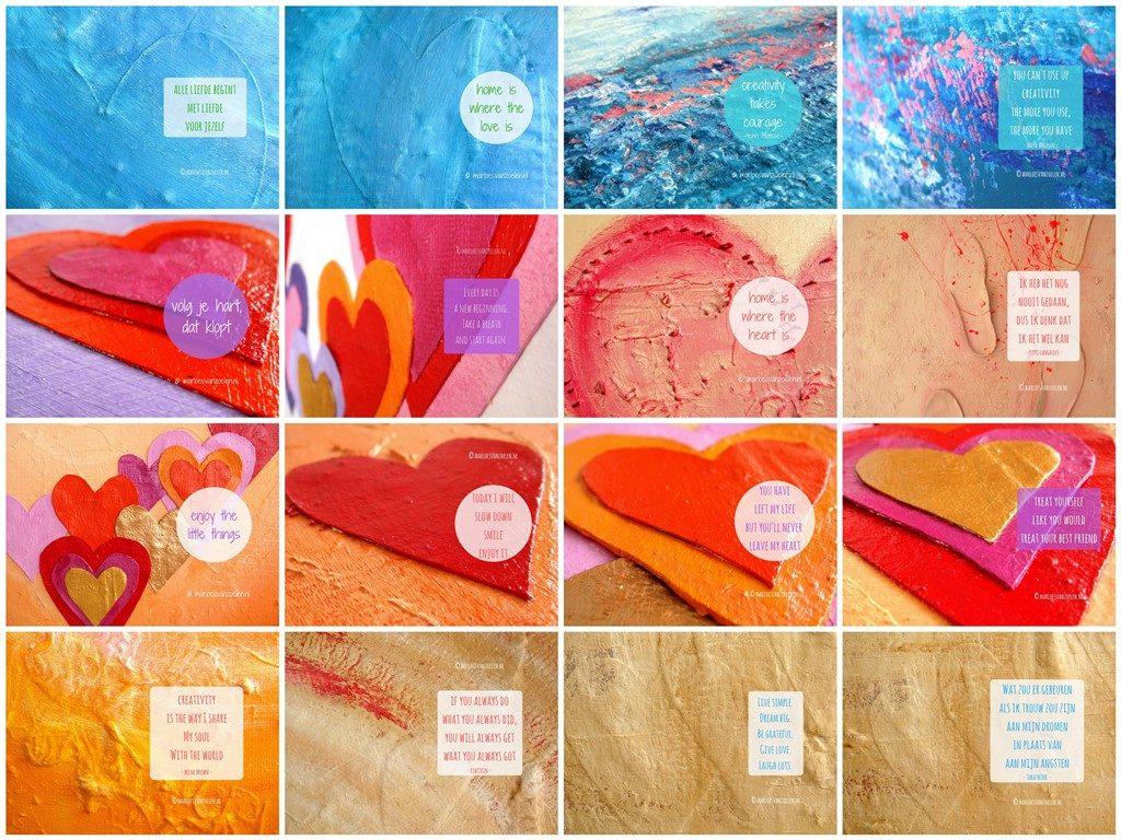 GRATIS Inspirerende kunst bureaublad achtergronden van Marloes van Zoelen
