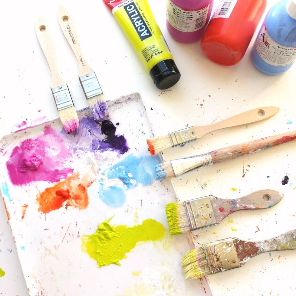 Herinneringsschilderij laten maken - Kleurenpalet