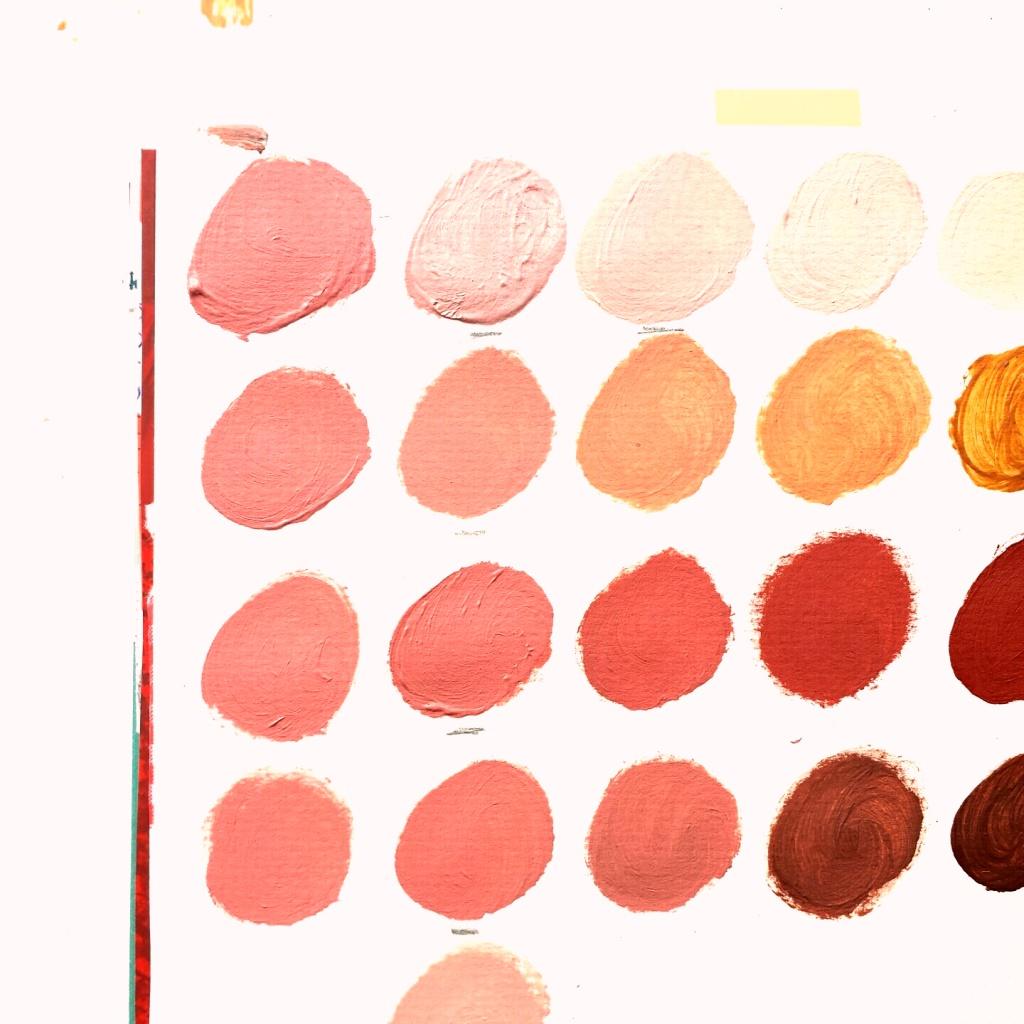 Schilderij naar wens laten maken - door Marloes van Zoelen - voorbeeld kleuren