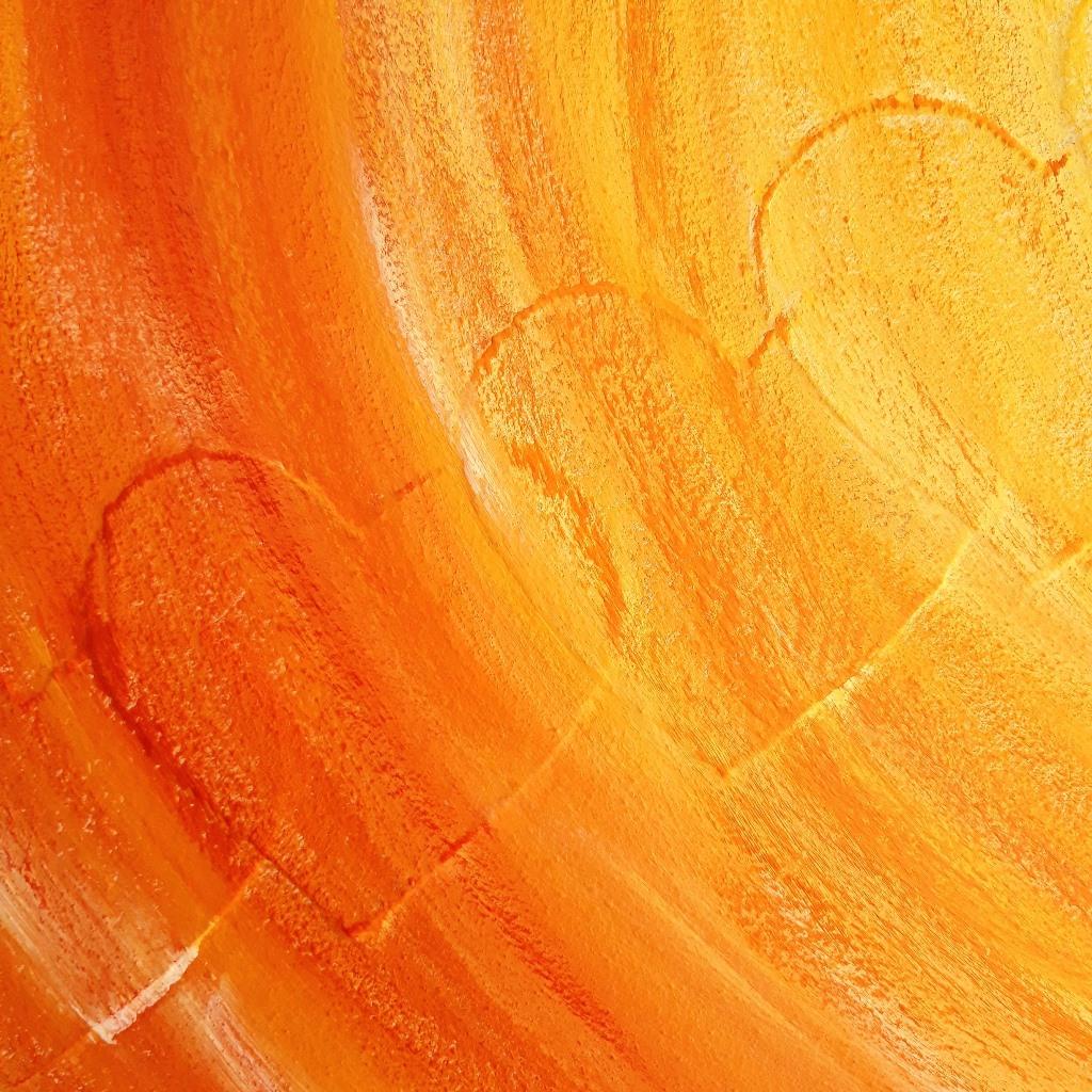 Persoonlijk cadeau laten maken - Detail 1e laag verf - Marloes van Zoelen