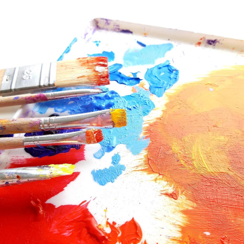 Kleurenpalet persoonlijk schilderij op maat - Marloes van Zoelen