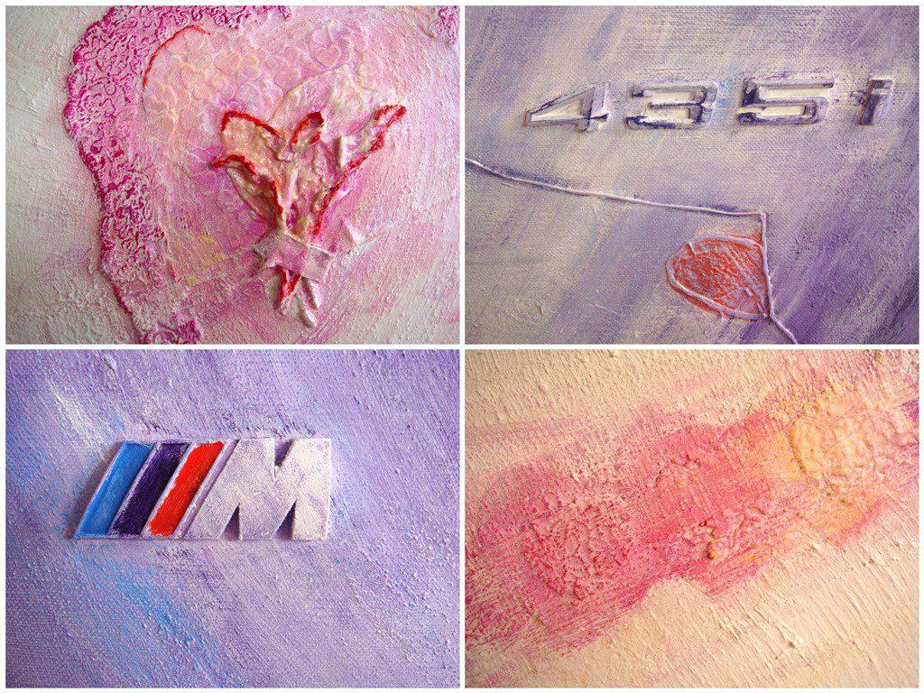 Schilderij natuurlijke materialen - Voorbeelden diverse materialen