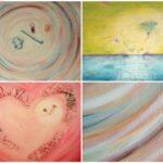 Bijzondere abstracte schilderijen - voorbeelden van gebruik van diverse vormen