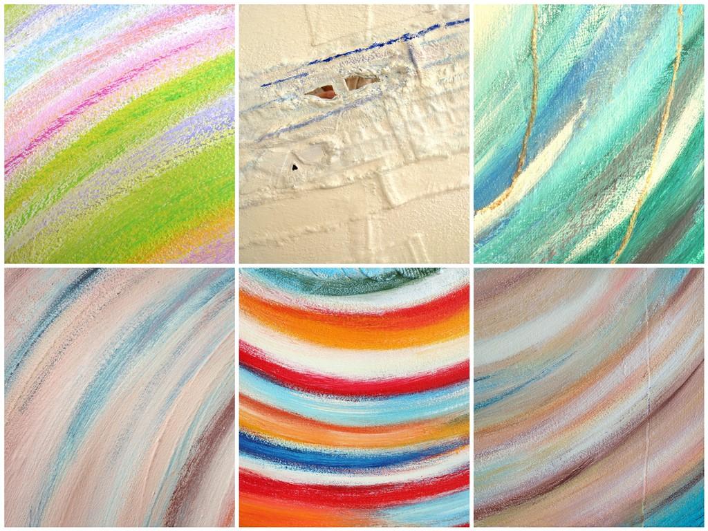Bijzondere abstracte schilderijen - voorbeelden van lijnen in schilderijen op maat