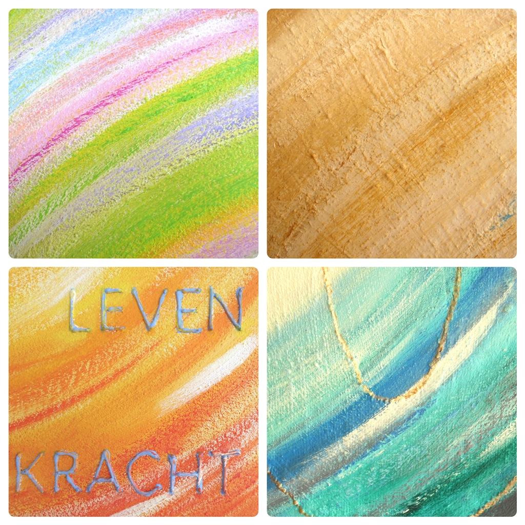 Schilderijen op maat van Marloes van Zoelen - collage details