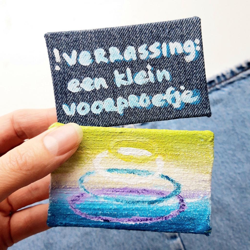 Voorproefje schilderij op maat - Marloes van Zoelen