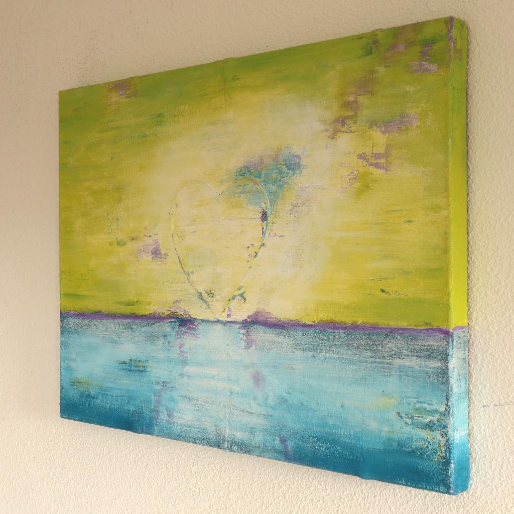 Schilderij op maat - Zee van geluk