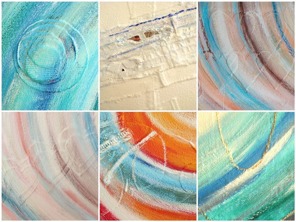Schilderij natuurlijke materialen - voorbeelden gebruik (spijker)stof