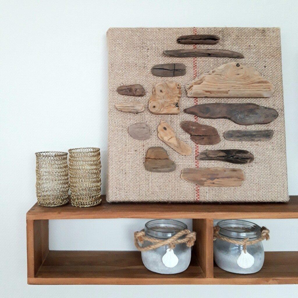 Drijfhoutkunst - Boodschap uit de zee - Marloes van Zoelen - VERKOCHT