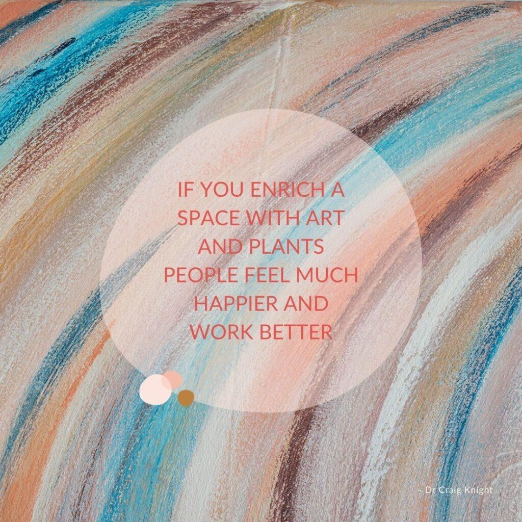Schilderij op je werkplek? 3 Inspirerende ideeën en voorbeelden
