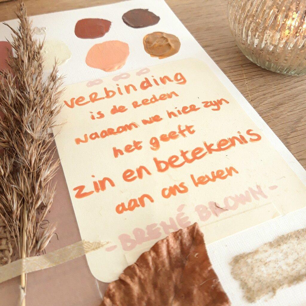 Koesterencollectie van Marloes van Zoelen - Thema verbinding