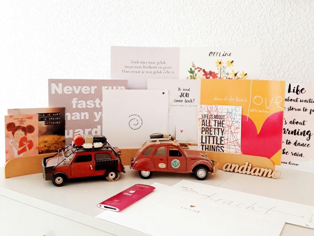 Huis persoonlijk maken - foto's kaarten quotes - ansichtkaarten