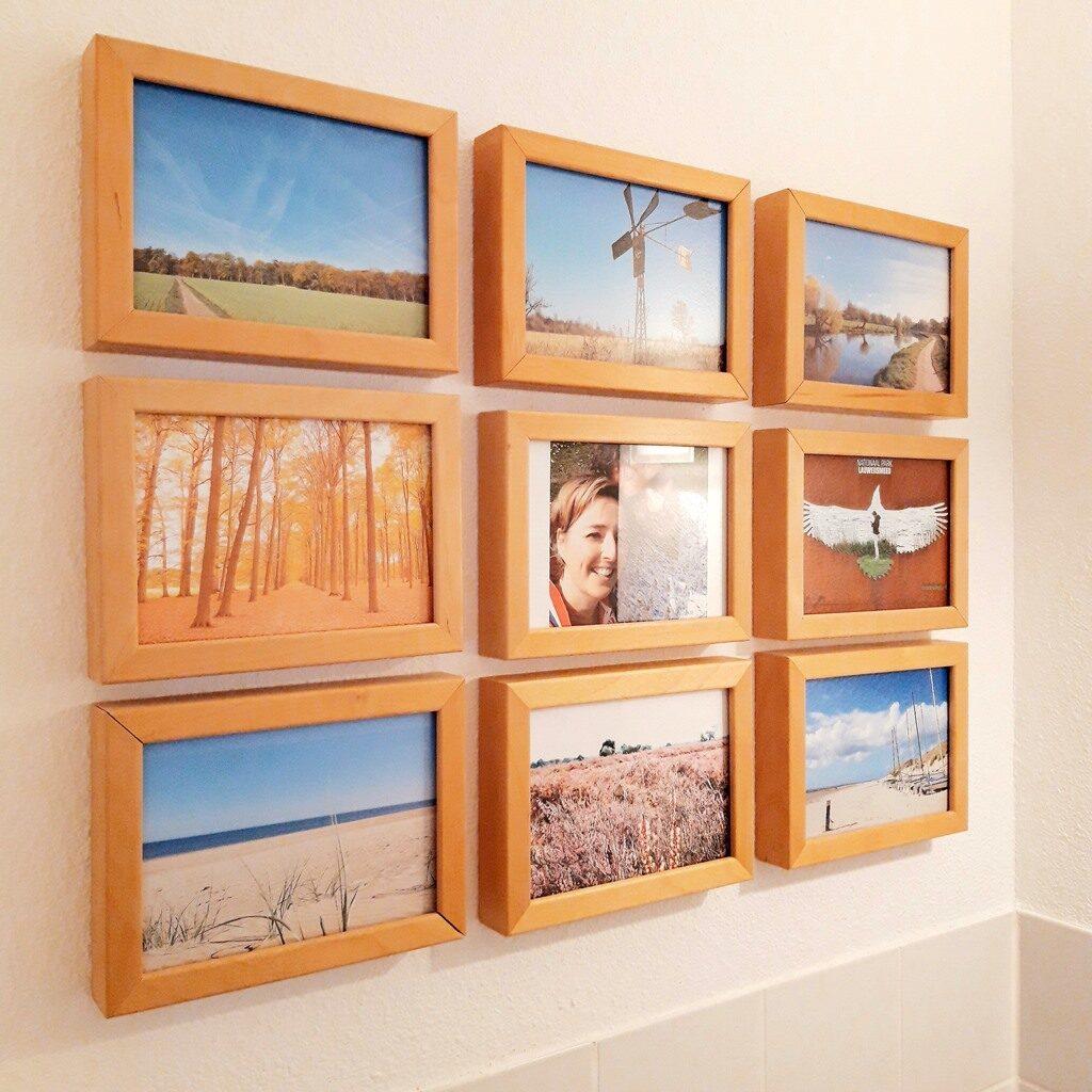 Huis persoonlijk maken - foto's kaarten quotes - fotowand