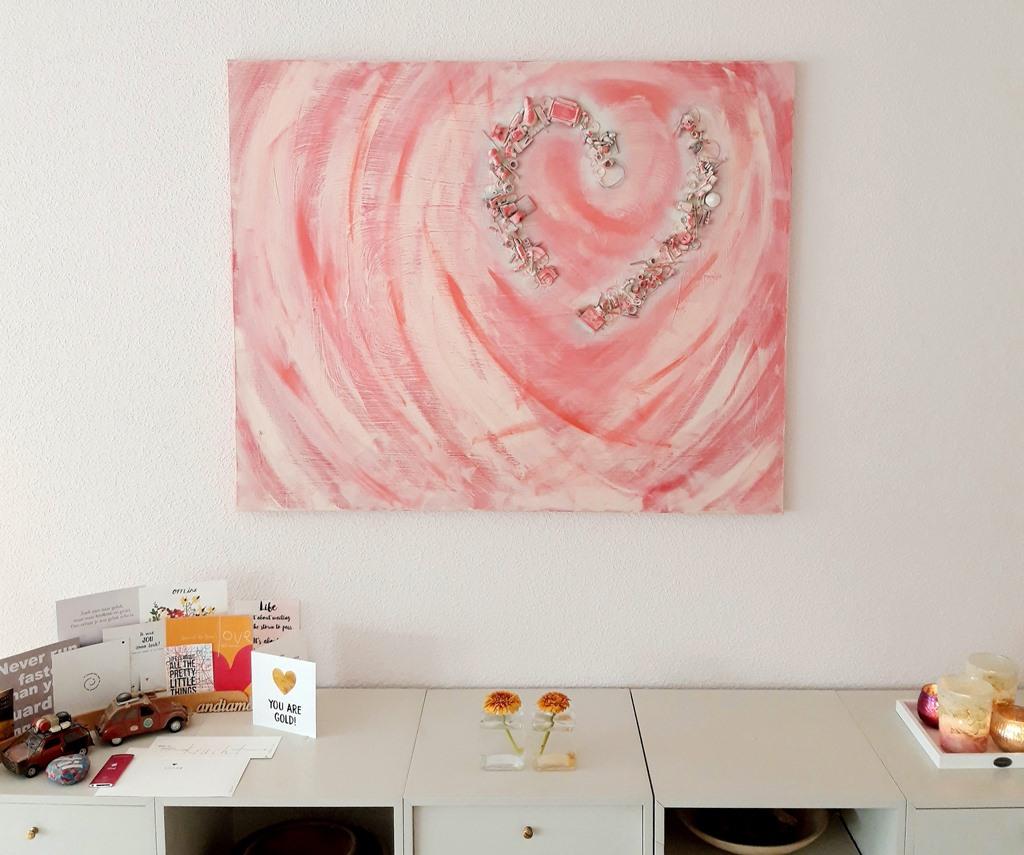 Interieur persoonlijk maken - schilderij - herinneringsschilderij