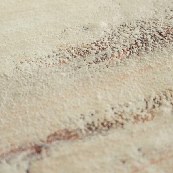 Een detail uit klein schilderij De kracht van stilte - Marloes van Zoelen