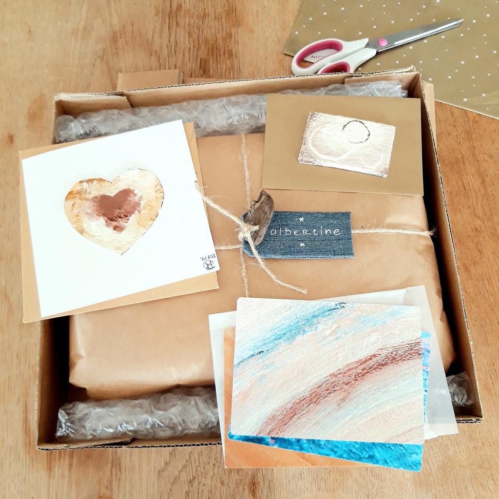Marloes van Zoelen - Beeldend kunstenaar - Voorbeeld verpakking