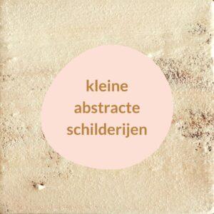 Abstracte schilderijen met structuur - Kracht van stilte