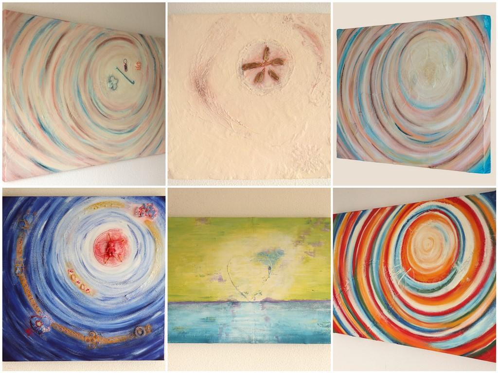 Schilderij in opdracht laten maken - Voorbeelden - Marloes van Zoelen
