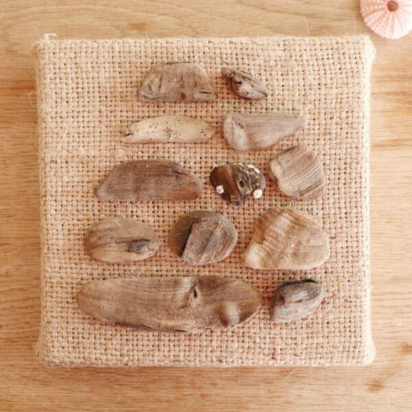 Drijfhout kunstwerk Zee van geluk - Marloes van Zoelen
