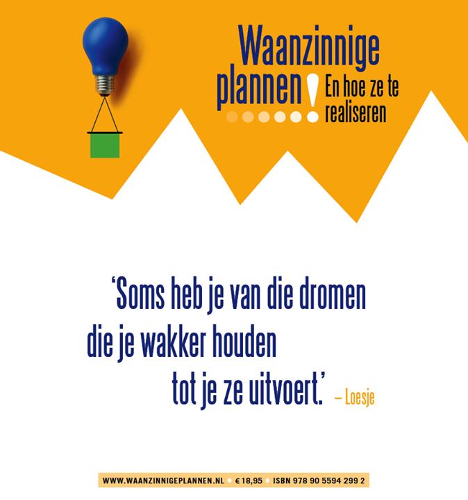 Marloes van Zoelen in Waanzinnige plannen
